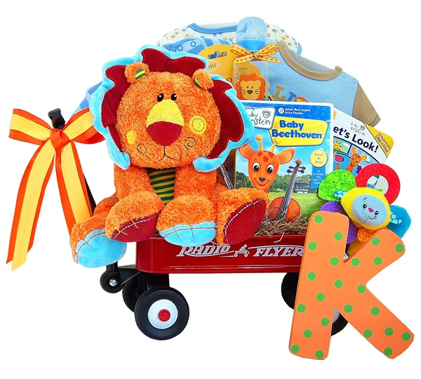 Baby Einstein King of the Jungle Wagon Gift Set