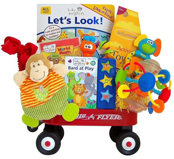 Baby Einstein Entourage Wagon Gift Set