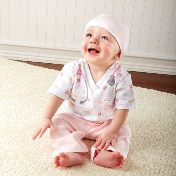 Big Dreamzzz| Baby Nurse 3-Piece Layette Set for Girls